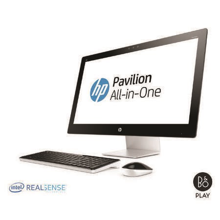 HP Pavilion 27-n203na Core i3-6100T 8GB 1TB AMD 4GB R7 A360  DVD-RW 27 Inch Windows 10 All In One