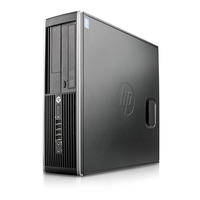 Refurbished HP Elite 8300 Intel Core i3-3220 3.30GHz 4GB 250GB Windows 10 Professional Desktop