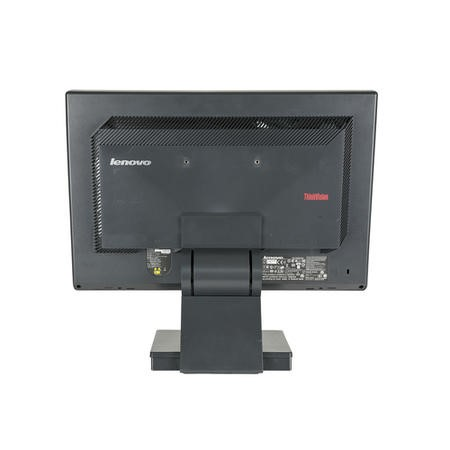 Refurbished Lenovo ThinkVision L197 Widescreen LCD 19 Inch Monitor in Black