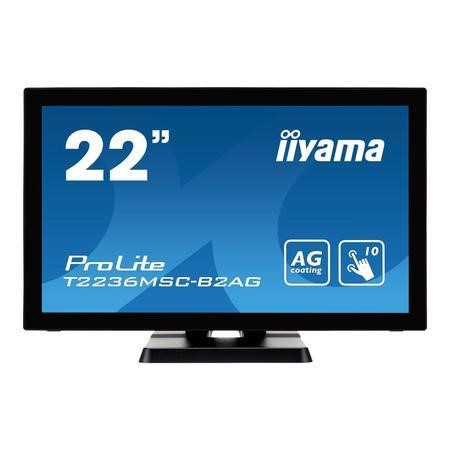"T2236MSC-B2AG Iiyama ProLite 22"" Full HD HDMI Touchscreen Monitor"