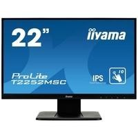 "Iiyama 22"" ProLite T2252MSCB1 Full HD IPS HDMI Touchscreen Monitor"