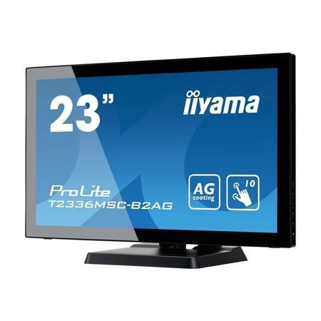 "T2336MSC-B2AG Iiyama ProLite T2336MSC-B2AG 23"" Full HD Touchscreen Monitor"