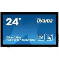 "Iiyama ProLite T2435MSC-B2 24"" 1920x1080 16_9 6ms DVI-D HDMI DP USB Touchscreen Monitor"