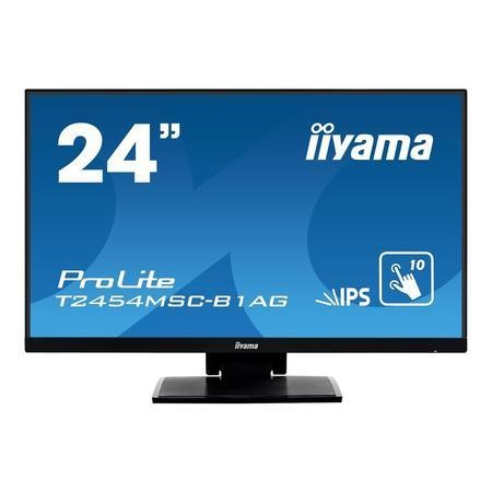 "T2454MSC-B1AG Iiyama ProLite T2454MSC-B1AG 24"" Full HD Touchscreen Monitor"