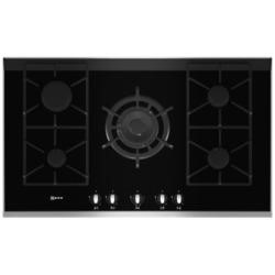 Neff T69S76N0 Series 4 90cm Gas-on-glass Hob with FSD