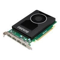 Hewlett Packard NVIDIA Quadro M2000 - Graphics card - Quadro M2000 - 4 GB GDDR5 - PCIe 3.0 x16 - 4 x DisplayPort - for Workstation Z240 CMT Z440 Z640 Z840