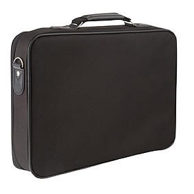 "Tech Air Bundle 15.6"" Black Laptop Bag with Silver Mouse"
