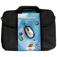 Tech Air - 15.6 Inch 15.6 Inch Bundle with Case and USB Mouse