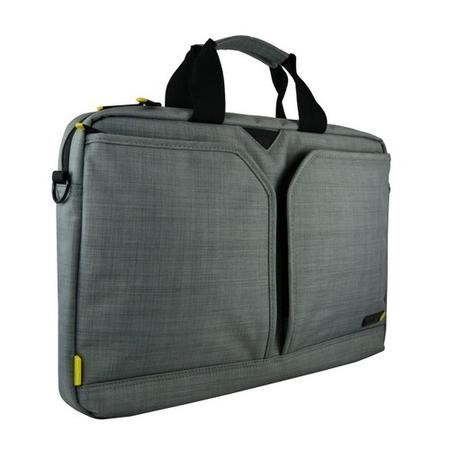 "Tech Air EVO 15.6"" Grey Laptop Shoulder Bag in Grey"