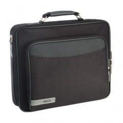 "Techair 13.3"" Black Briefcase with Shoulder Strap"