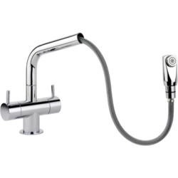 Rangemaster Aquapro Chrome Pull-out Monobloc Tap