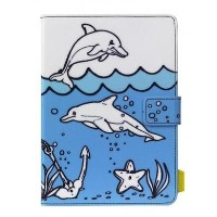 "Tech Air 7-8"" Universal Doodle Tablet Case - Dolphin"