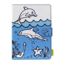"TAUKT008 Tech Air 7-8"" Universal Doodle Tablet Case - Dolphin"