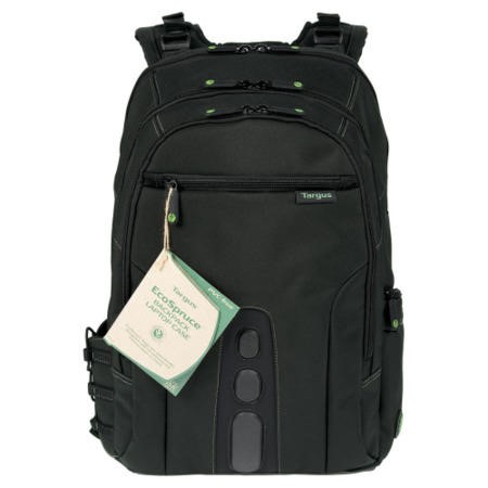 "Targus 15.6"" EcoSpruce Laptop Backpack in Black"