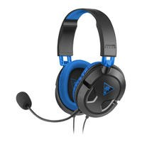 Turtle Beach Ear Force Recon 60P Gaming Headset in Black and Blue