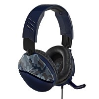 GRADE A1 - Turtle Beach Recon 70 Blue Camo - Gaming Headset