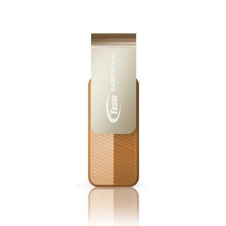 Team Color Series C143 64GB USB 3.0 Brown USB Flash Drive