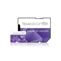 Team Colour 64GB Micro SDXC Flash Card with Adapter