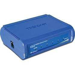 TRENDnet TE100-S5 5-Port Fast Ethernet Unmanaged Switch 10/100Mbps Version v1.2R