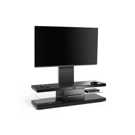 TechLink Echo EC130TVB Black TV Stand - Up to 60 Inch