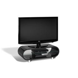 TechLink Ovid OV95 Black TV Stand - Up to 50 Inch