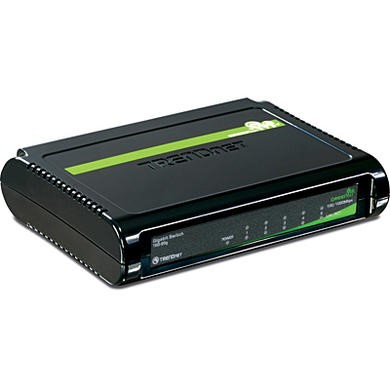 TRENDnet TEG-S5G GREENnet Unmanaged Switch 5-Port 10/100/1000Mbps Version v1.0R