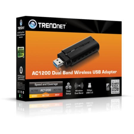 TRENDnet AC1200 Dual Band USB Adapter