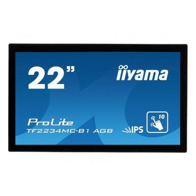 "Iiyama 22"" ProLite TF2234MC-B1AGB Full HD Touchscreen Monitor"