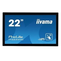 "Iiyama ProLite TF2234MC-B6AGB 22"" IPS Multi-Touch Touchscreen Monitor"