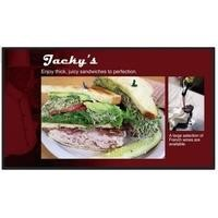 "48"" Black LCD Large Format Display, Full HD, 350 cd/m2"
