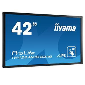 Iiyama TH4264MIS-B2AG 42in Black LED Large Format Display 1920 x 1080 18/7 400 cd/m2
