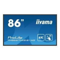 "Iiyama TH8667MIS-B1AG 86"" 4K Ultra HD Touchscreen Display"