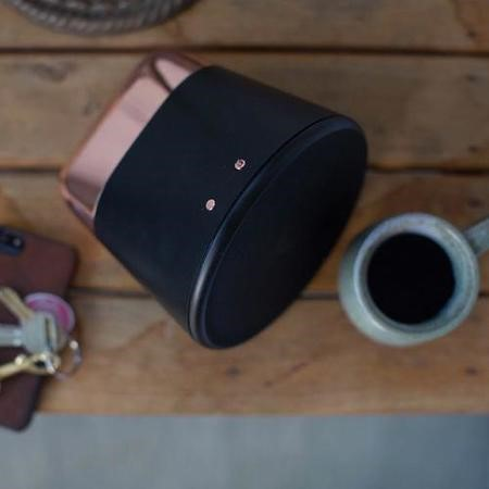GRADE A1 - Aether Cone Wifi and Bluetooth HiFi Speaker - Black and Copper