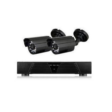 Electriq Cctv System 4 Channel 720p Dvr With 2 X 800tvl