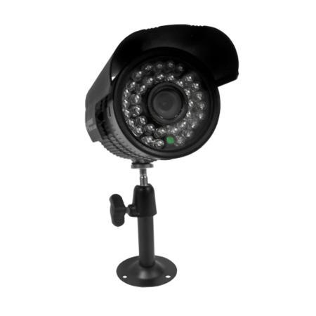 electriQ CCTV System - 4 Channel 720p DVR with 4 x 800TVL Bullet Cameras - Hard Drive Required