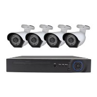 electriQ CCTV System - 4 Channel 1080p DVR with 4 x 1080p Bullet Cameras & 2TB HDD