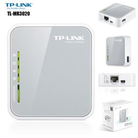 TP Link TL MR3020 V3 Portable 3G4G