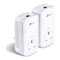 TP-Link AV1200 1.3Gbps Passthrough Powerline Starter Kit - 2 Pack