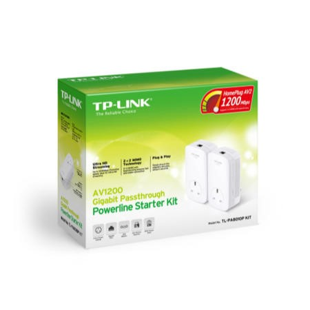 TP-Link 1 200M 1.2GB Powerline with Pass-through