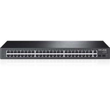 TP-Link 48-Port 10/100Mbps + 4-Port Gigabit Smart Switch