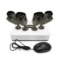 electriQ 4 CH IP CCTV Security System 1080p NVR Kit 4 Bullet Cameras 960p POE