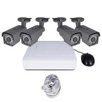 electriQ CCTV System - 4 Channel 1080p with 4 x Bullet Cameras & 2TB HDD