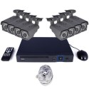 TL-U6B822E2TB electriQ CCTV System - 8 Channel HD 1080p NVR with 8 x 1080p Bullet Cameras & 2TB HDD