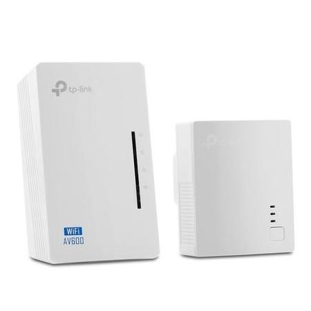 TP-Link 600Mbps 2 Ports WiFi Powerline Adapter - 2 Pack