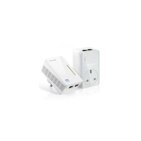 TP-Link AV500 Powerline WiFi Extender with 2 LAN ports 3 units pack