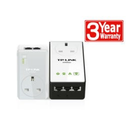 TP-Link 500Mbps Powerline Kit with Passthrough & 300Mbps Wifi extender