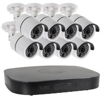 electriQ 8 Camera 1080p HD CCTV System with 2TB Hard Drive