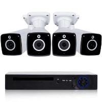 electriQ 4 Camera 4K Ultra HD CCTV System - No Hard Drive