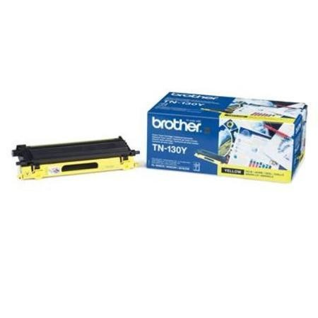 Brother TN 130Y Toner Cartridge - Yellow