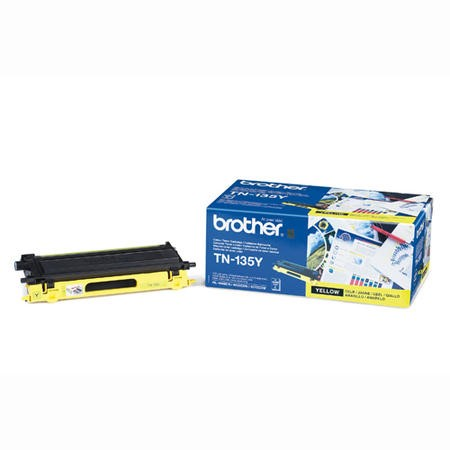 Brother TN 135Y - toner cartridge